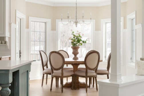 Lake Minnetonka Dining Room Interior Designer