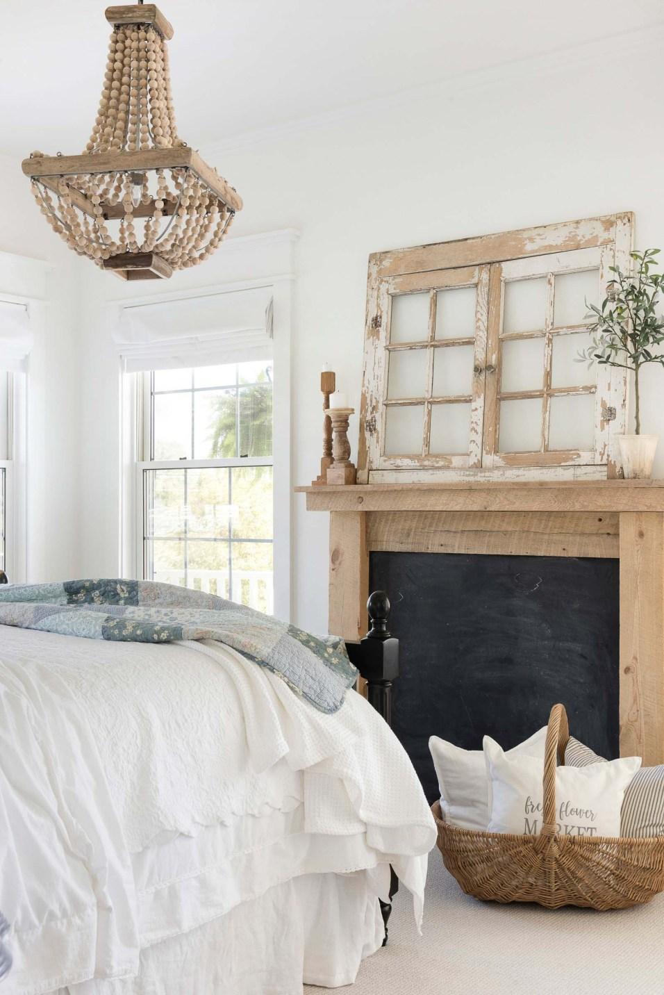 Beautiful Chaos Farmhouse Bedroom