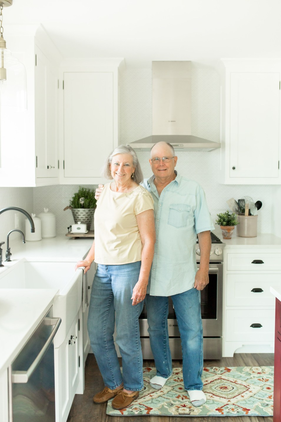 the lyons in their new remodel!