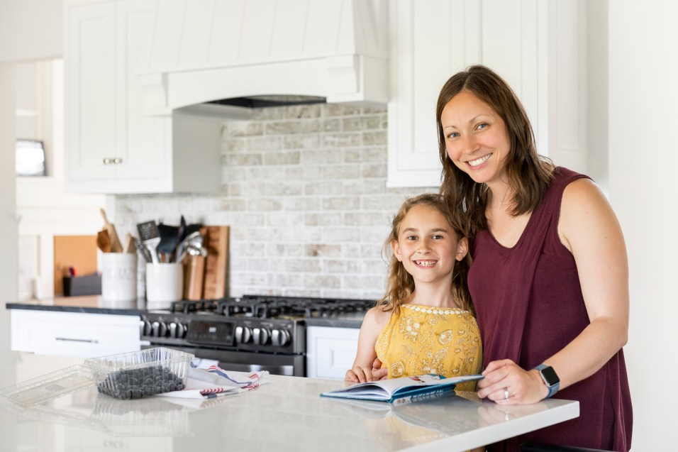 Momma client and her daughter from our Modern Family Renovation.