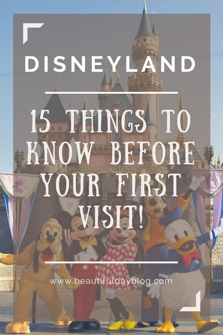 Things to know about Disneyland before your first visit