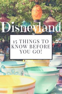 15 Things to Know Before You Go!
