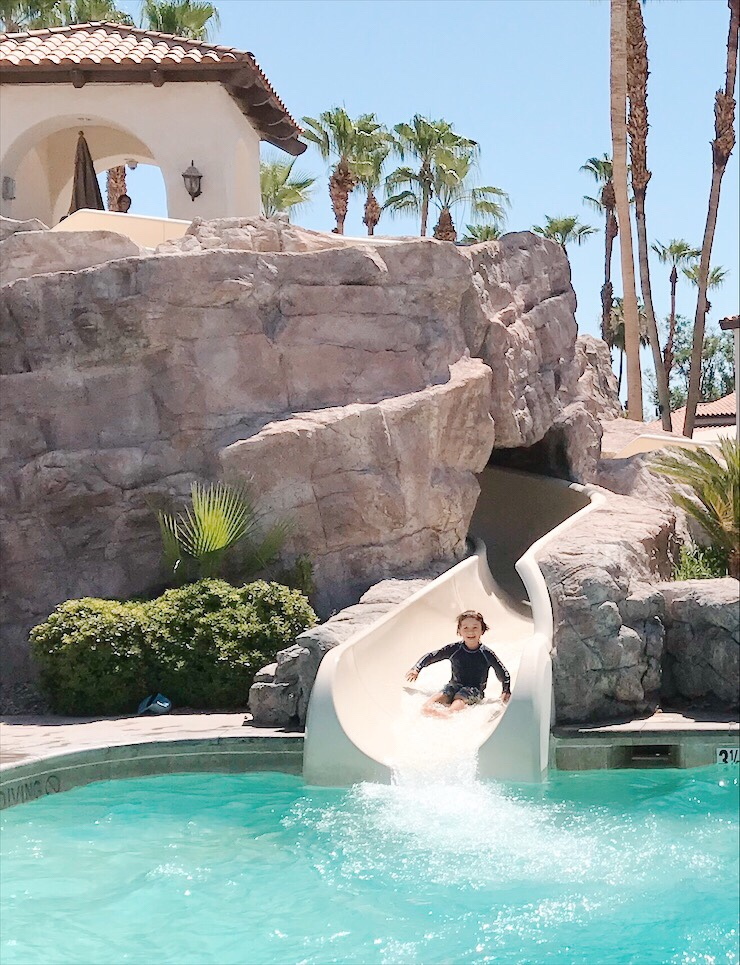 Omni Rancho Las Palmas Palm Springs Water Slide