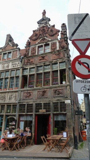 Cafes of Belgium - by Anika Mikkelson - Miss Maps