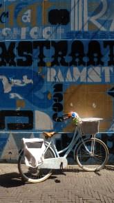 Blue Bike in Den Haag - August 2014
