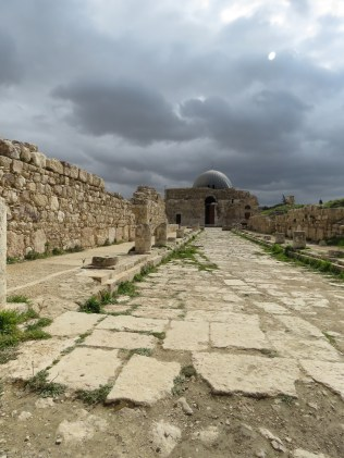 Mosque in the Citadel - Amman Jordan - February 2015