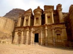 Petra's Monastery El Deir - by Anika Mikkelson - Miss Maps - www.MissMaps.com
