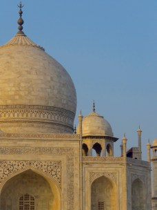 Up Close at the Taj Mahal - Agra, India - by Anika Mikkelson - Miss Maps
