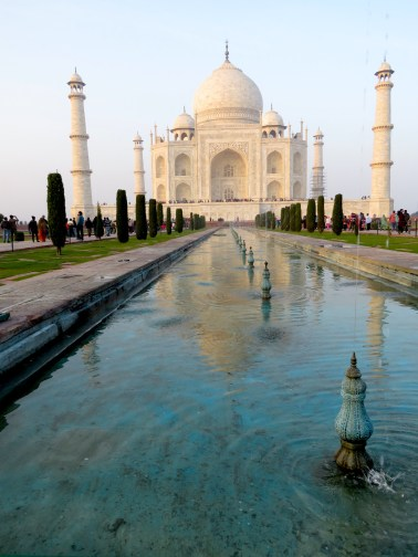 Taj Mahal - Agra, India - by Anika Mikkelson - Miss Maps