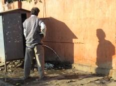 Potty Break Shadows - Varanasi India - by Anika Mikkelson - Miss Maps