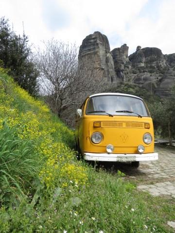 Slug Bug in Meteora Greece