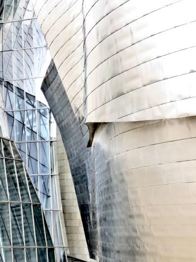 Guggenheim Museum - Bilbao, Spain - July, 2015