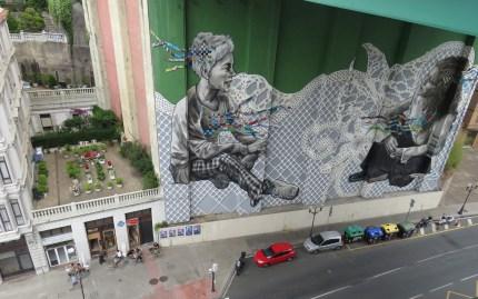 Under La Salve Bridge - Bilbao Spain - by Anika Mikkelson - Miss Maps