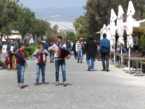 Adolescent Accordions in Athens Greece - by Anika Mikkelson - Miss Maps