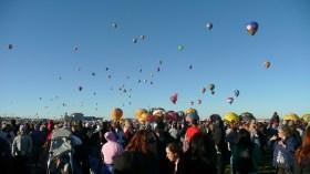 Albuquerque Balloon Fiesta Filled Sky- visit www.beautifulfillment.com for more inspirations!