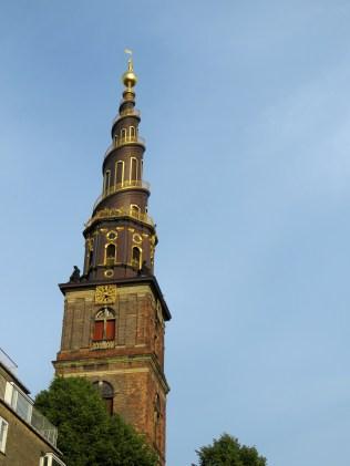 Spiral Tower of Church of Our Saviour, Copenhagen, Denmark - by Anika Mikkelson - Miss Maps