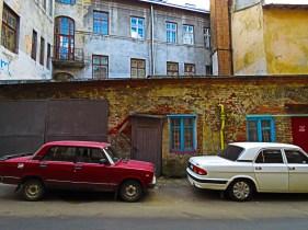 Classic Car 5 Lviv Ukraine by Anika Mikkelson - www.MissMaps.com