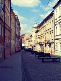Sunny Street Lviv by Anika Mikkelson - www.MissMaps.com