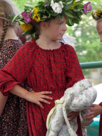 Young Girl Singing Krakow