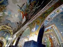 Inside Chapel of Saint Petka - Belgrade, Serbia
