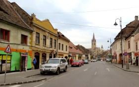 Lower Town Sibiu Romania - by Anika Mikkelson - Miss Maps - www.MissMaps.com