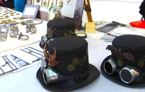 Romanian Steampunk Hats and Jewelry - Sibiu, Romania - Anika Mikkelson - Miss Maps - www.MissMaps.com