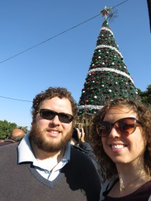 Merry Christmas (Eve) from Ben and Annie in Bethlehem - Miss Maps - www.MissMaps.com