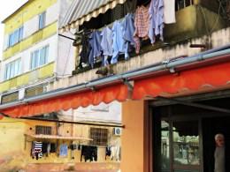 Lines of Laundry - Shkoder Albania - by Anika Mikkelson - Miss Maps - www.MissMaps.com