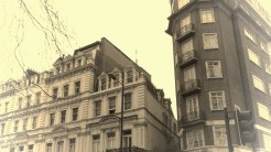 Buildings near Hyde Park - London, England, United Kingdom - by Anika Mikkelson - Miss Maps