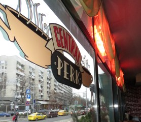 Central Perk's Famous Sign - Plovdiv, Bulgaria - by Anika Mikkelson - Miss Maps