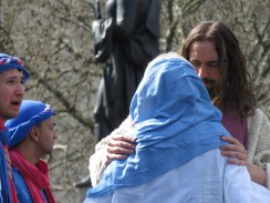 Jesus Performs for Easter at Trafalgar Square - London, England, United Kingdom - by Anika Mikkelson - Miss Maps