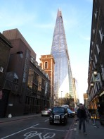 The Shard and a classic London Taxi - London, England, United Kingdom - by Anika Mikkelson - Miss Maps