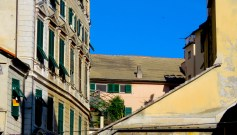 Rooftops of Genoa Italy - by Anika Mikkelson - MissMaps.com