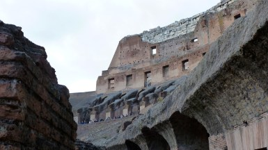 The Colosseum of Rome Italy - by Anika Mikkelson - Miss Maps - www.MissMaps.com