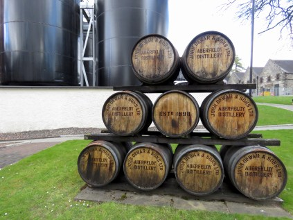 Aberfeldy Distillery in Scotland - by Anika Mikkelson - Miss Maps - www.MissMaps.com