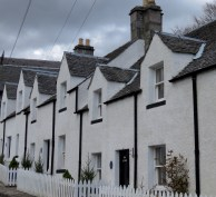 Cute Cottages of Kenmore Scotland - by Anika Mikkelson - Miss Maps - www.MissMaps.com