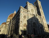 Duomo Church at Dusk - Florence Italy - by Anika Mikkelson - Miss Maps - www.MissMaps.com