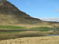Farmhouse Reflection - Western Iceland - by Anika Mikkelson - Miss Maps - www.MissMaps.com