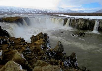 Godafoss Waterfall - Northern Iceland - by Anika Mikkelson - Miss Maps - www.MissMaps.comGodafoss Waterfall - Northern Iceland - by Anika Mikkelson - Miss Maps - www.MissMaps.com