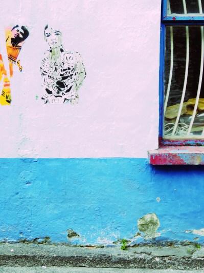 Graffiti Stencils in Dingle Ireland - by Anika Mikkelson - Miss Maps - www.MissMaps.com