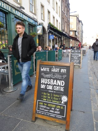 Husband Day Care Centre at White Hart Inn Edinburgh Scotland - by Anika Mikkelson - Miss Maps - www.MissMaps.com