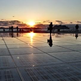 Il Saluto al Sole - Greetings to the Sun - Zadar Croatia - by Anika Mikkelson - Miss Maps - www.MissMaps.com