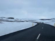 North Iceland turns into snow fields - by Anika Mikkelson - Miss Maps - www.MissMaps.com