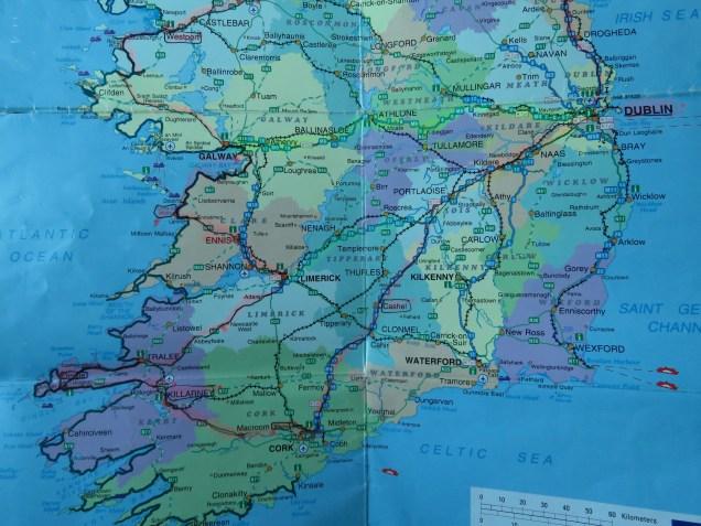 Our trip through Southern Ireland - by Anika Mikkelson - Miss Maps - www.MissMaps.com