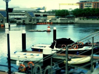 River Lagan - Belfast, North Ireland- by Anika Mikkelson - Miss Maps - www.MissMaps.com