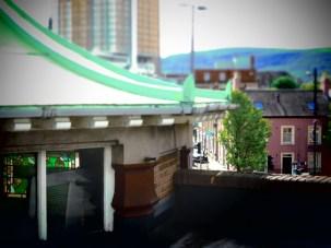Rooftop Shop in Belfast, North Ireland- by Anika Mikkelson - Miss Maps - www.MissMaps.com