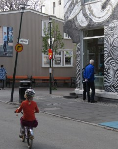 Staring Contests - Reykjavik Iceland - by Anika Mikkelson - Miss Maps - www.MissMaps.com