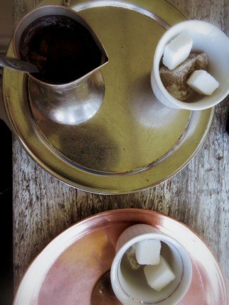 Bosnian Coffee at Zmajevac - Sarajevo - Bosnia and Herzegovina - by Anika Mikkelson - Miss Maps - www.MissMaps.com
