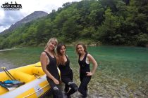 Female Travel Bloggers Rafting on River Neretva - Bosnia and Herzegovina BiH - photo provided by VisitKonjic.com