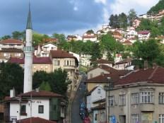 Streets of Sarajevo - Bosnia and Herzegovina - by Anika Mikkelson - Miss Maps - www.MissMaps.com